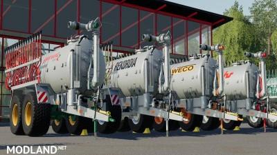 Drag hose slurry tank set galvanized 16m v 1.0, 1 photo
